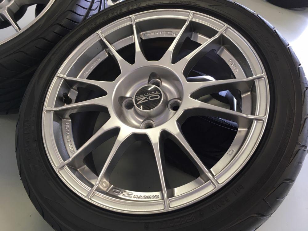Mazda MX-5 velgenset Steek 4 x 100 met 205/45-16 Yokohama Zomerbanden