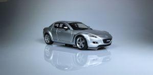 Mazda RX-8 grijs 1:43