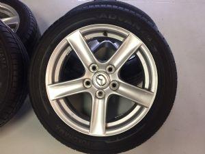Mazda MX-5 velgenset Steek 5 x 114,3 met 205/50-16 Yokohama Zomerbanden