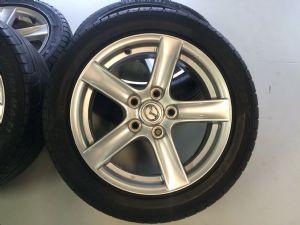 Mazda MX-5 velgenset Steek 5 x 114,3 met 205/50-16 Maxxis Zomerbanden